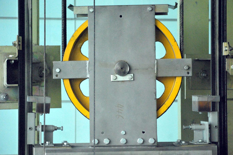 Elevator pulley
